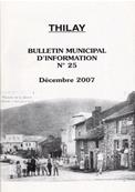 Bulletin municipal Thilay N° 25